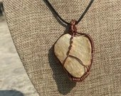 Copper Wrapped Heart Shaped Quartz Pendant | Handmade | Gifts For Her | Gifts For Him | Unisex | California Mountains | Love | Camping