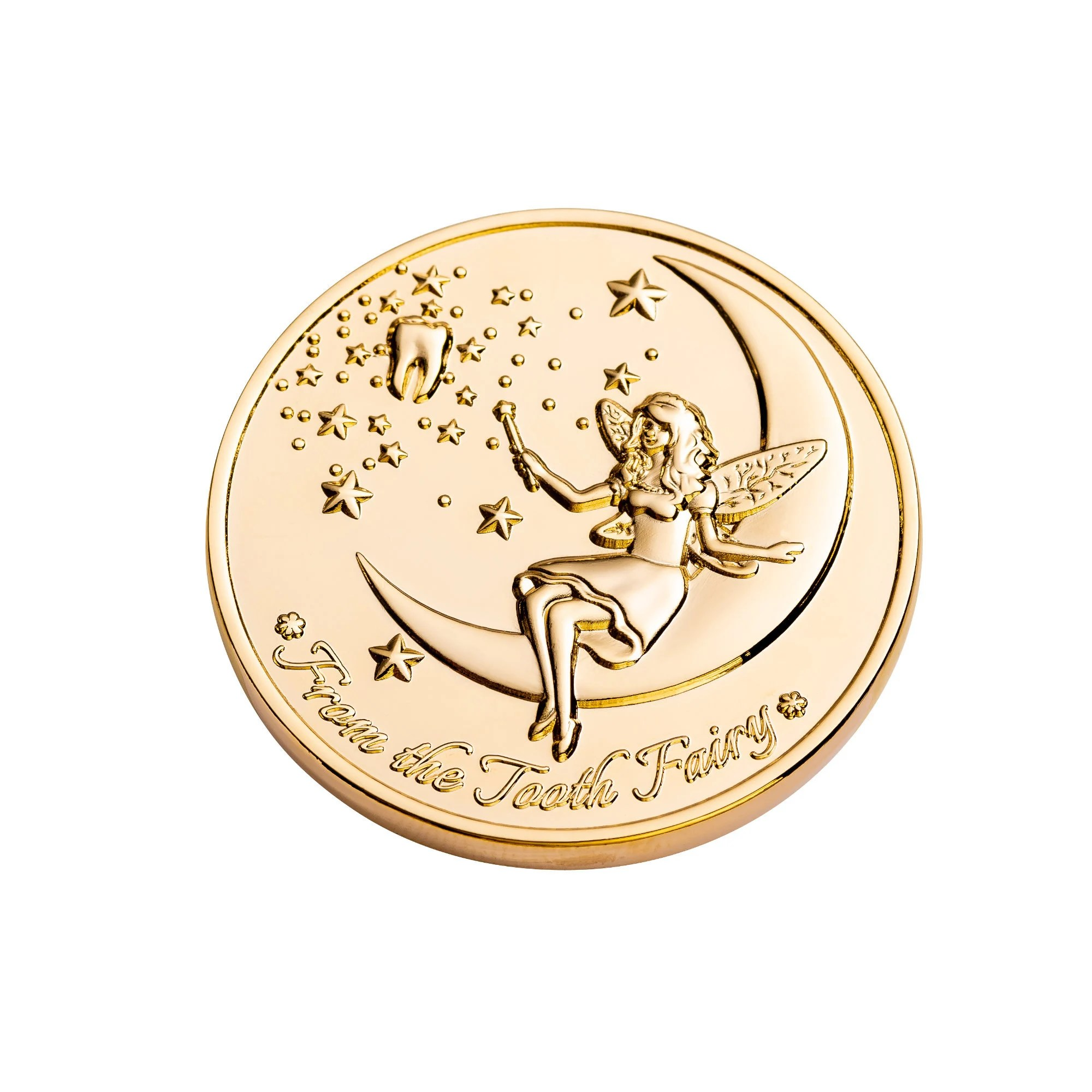 Tooth Fairy Coins Designer Set 1 goldplated image 3