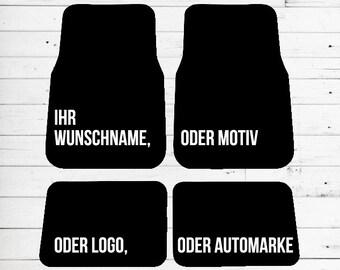 Auto Fussmatten Mit Motiv Blondinen Bevorzugt Wunschfarbe Angeben
