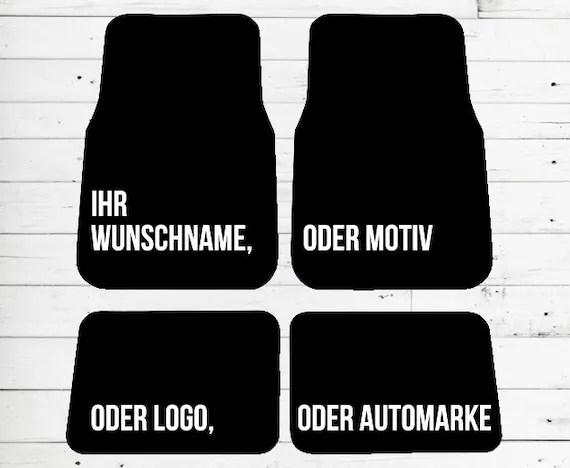 Fussmatte Lieblingssitznachbar Mit Personalisierung Auto Motiv
