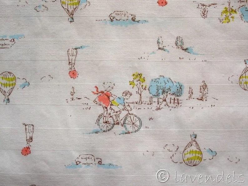 REDUZIERT Baumwollstoff   Radlreise   Ökotex image 0