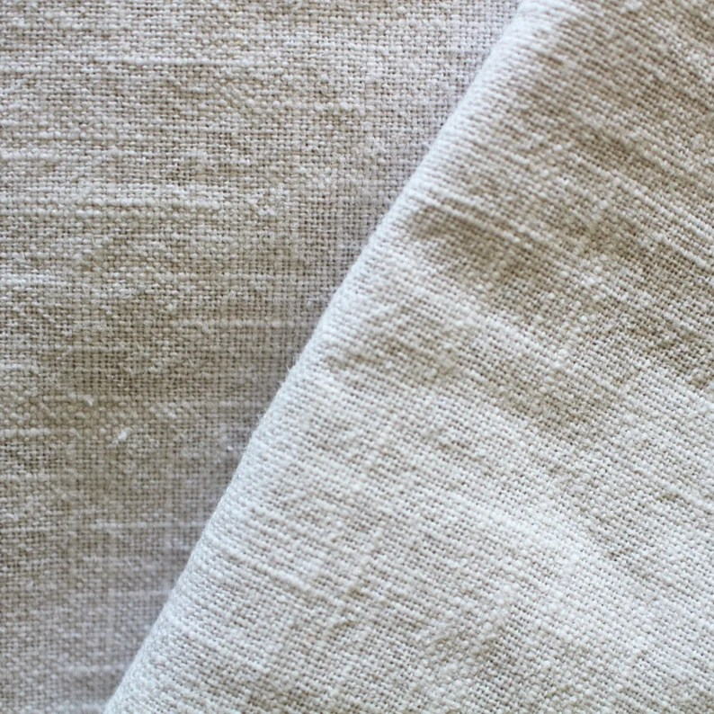 Leinen  feingrau stonewashed 250 g/m  Leinenstoff grau image 0