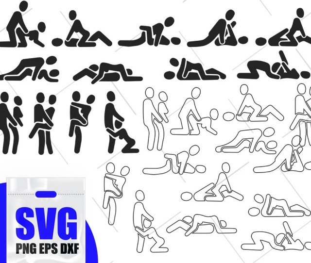 Sex Svg Kamasutra Svg Couples Positions Svg Files Sex Positions Silhouette Svg Dxf Png Eps Pdf Printable  D1 96ex Clipart Vector Files