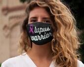 LUPUS WARRIOR PURPLE Ribbon Face Mask