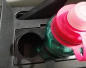 Honda Element & Pilot Replacement Cup Holder Insert (Fits 1000ml Nalgene and 32 oz HydroFlask Bottles + more!)