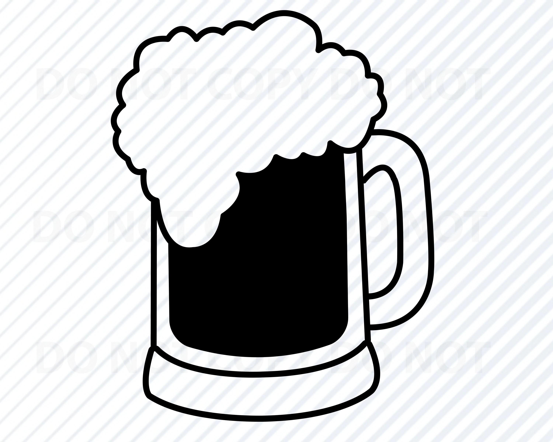 Beer 1 Svg Files For Cricut Beer Mug Vector Images