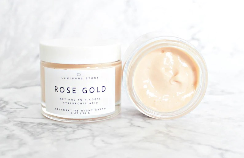 Rose Gold Organic Night Cream