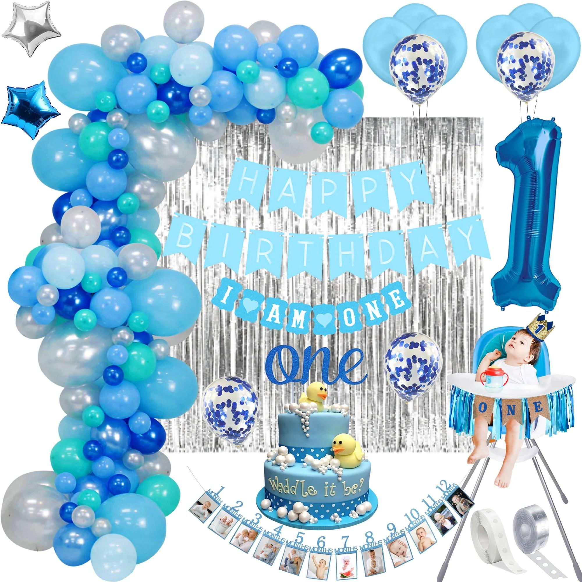 1st Birthday Boy Decoration Etsy