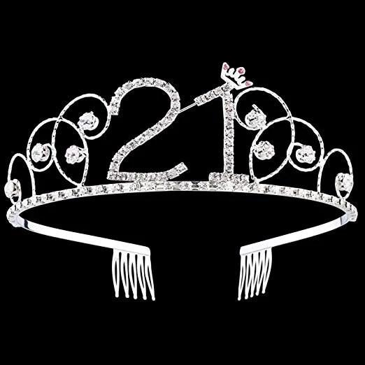 21st Birthday Crown Etsy