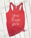 Next Level Lay Flat Mock Up For Triblend Racerback Tank Top Etsy