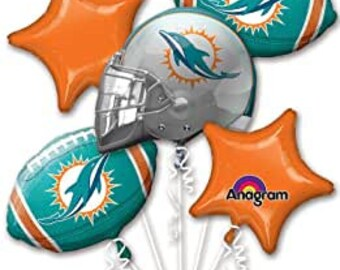 Miami Dolphins Party Etsy