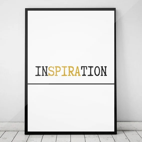 Printable Quotes,Black and White Wall Art, Office Decor