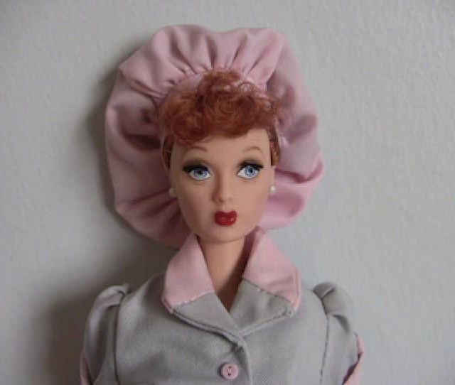Vintage  I Love Lucy Doll Mattel Collector Lucille Ball Memorabilia Retro S Doll Job Switching Episode