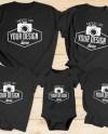 Bundle 17 Mockups Family Shirt Mock Ups Matching Family Blank Etsy