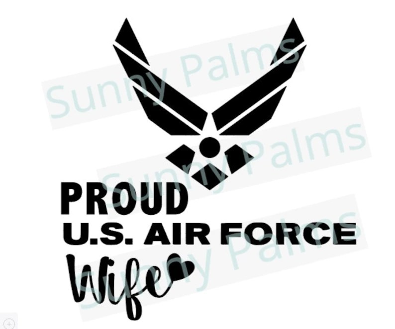 Download Air Force Wife svg dxf png jpg eps | Etsy