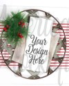 Christmas Farmhouse Tea Rag Mockup Kitchen Towel Tea Towel Etsy