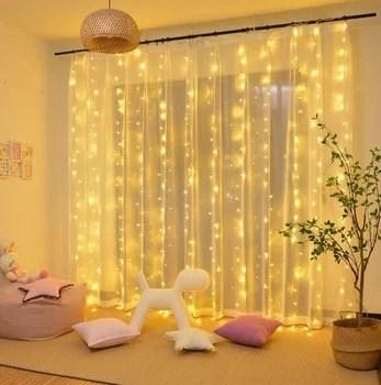 led window curtain lights fairy twinkle lights 300 led lights waterproof lights wedding decor special events