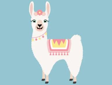 Niedliche Llama SVG Cut Files PNG Lamas Clipart | Etsy