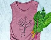 Vegan Shirt - Vegan - Women's Relaxed Muscle Tank Top - Vegan Tank Top