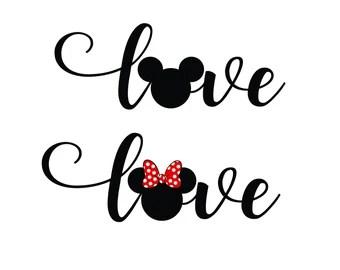 Download Mickey love minnie   Etsy