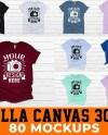 Mega Bundle Bella Canvas 3001 T Shirt Mockups 80 High Etsy