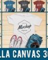 Bella Canvas 3001 Mockup Bundle 18 Mockups Unisex Tshirt Etsy
