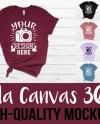 Bella Canvas 3001 T Shirt Mockup Mega Bundle 42 High Quality Etsy