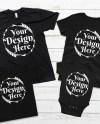 Bundle 22 Mockups Family Shirt Mock Ups Matching Family Blank Etsy