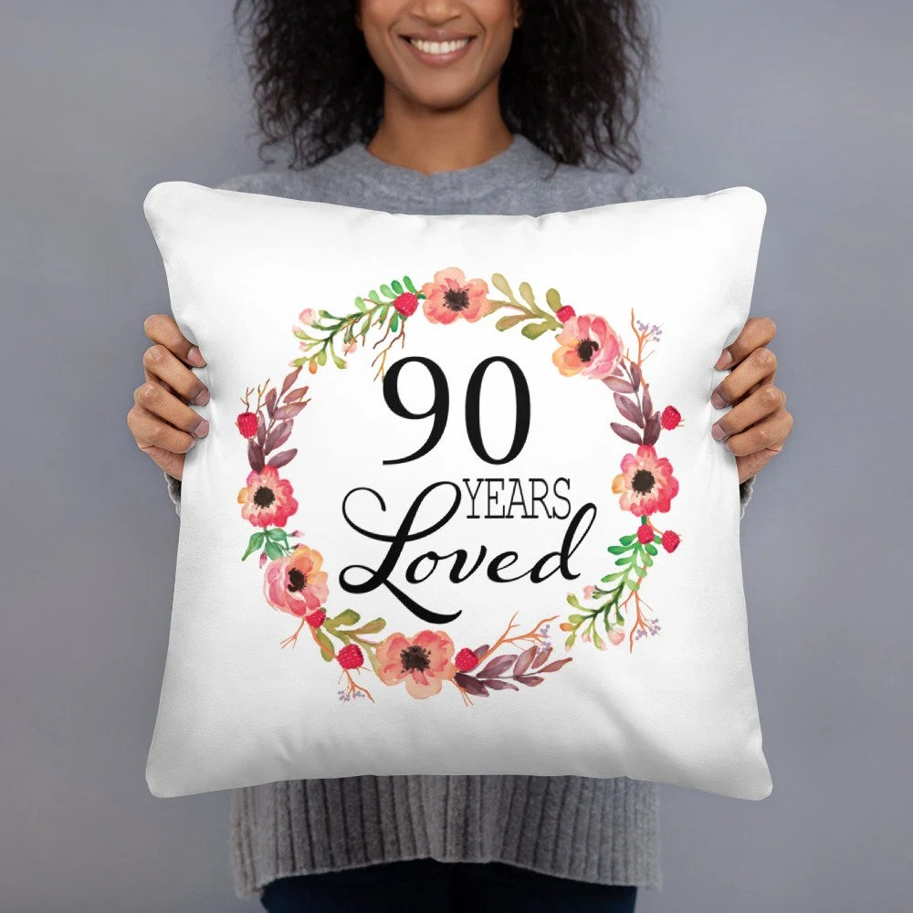 90th Birthday Gifts For Women 90 Year Old Female 90 Years Etsy
