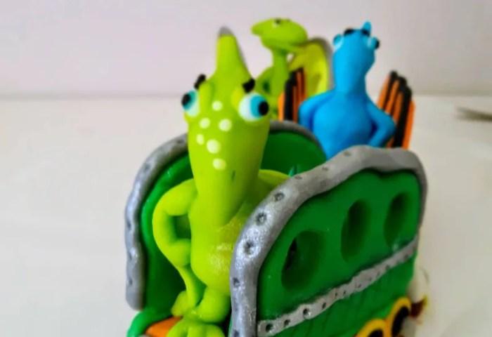 Dinosaur Train Tiny Shiny And Don Cake Topper Set Custom Etsy