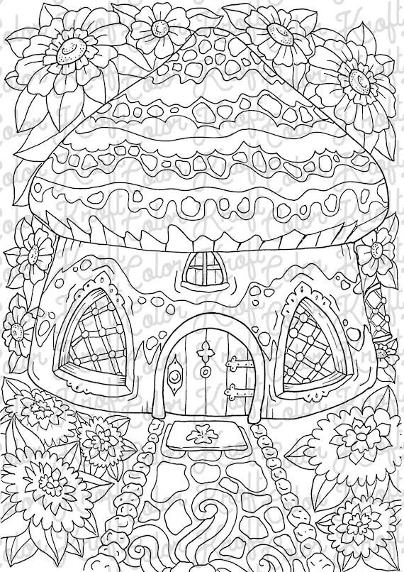garden coloring page # 37