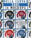 Mega Bundle 14 Mockups Bella Canvas 8413 Mockup Multi Colors Etsy