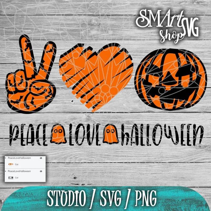 Download Peace love halloween svg Halloween svg pumpkin svg ghost ...