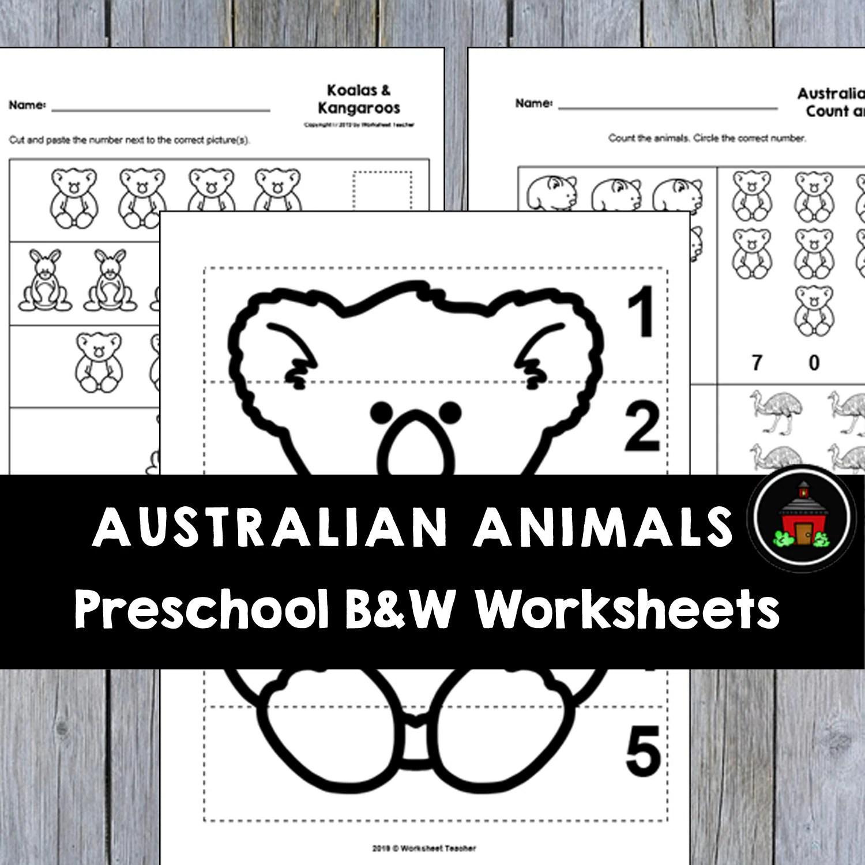 10 Australian Animals Preschool Curriculum Activities