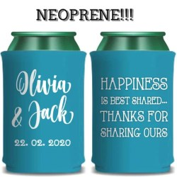 Neoprene Wedding Stubby Holder Cheers To The New Mr Etsy