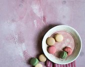 Pink with stains, pink backdrop, ML155,  foodsurface photography, digital print, grunge backdrop