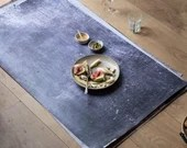 Concrete dark vinyl backdrop ML322, backdrop for food photography and product photography, flat lay styling and food styling
