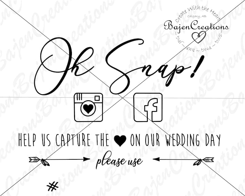 Download Oh Snap SVG and DXF Cut file Help us Capture the love on ...