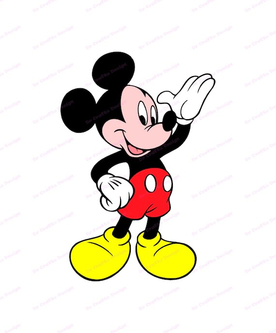 Download Mickey Mouse SVG 10 svg dxf Cricut Silhouette Cut File | Etsy