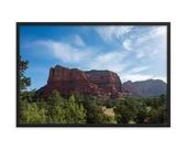 Framed Photo Paper Poster - Courthouse Butte  Sedona, Arizona