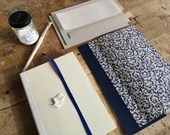 Notebook Kit A5 Beginner, Diary, Book Kit, Self Bookbinding Beginner, DIY NotitzBook, Instruction Journal Beginner,