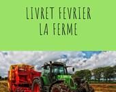 Livret d'activité de février - La ferme