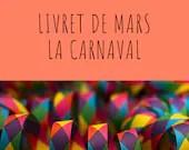 Livret d'activité de février - Le carnaval