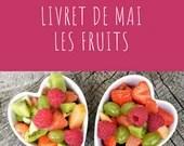 Livret d'activité de mai - Les fruits