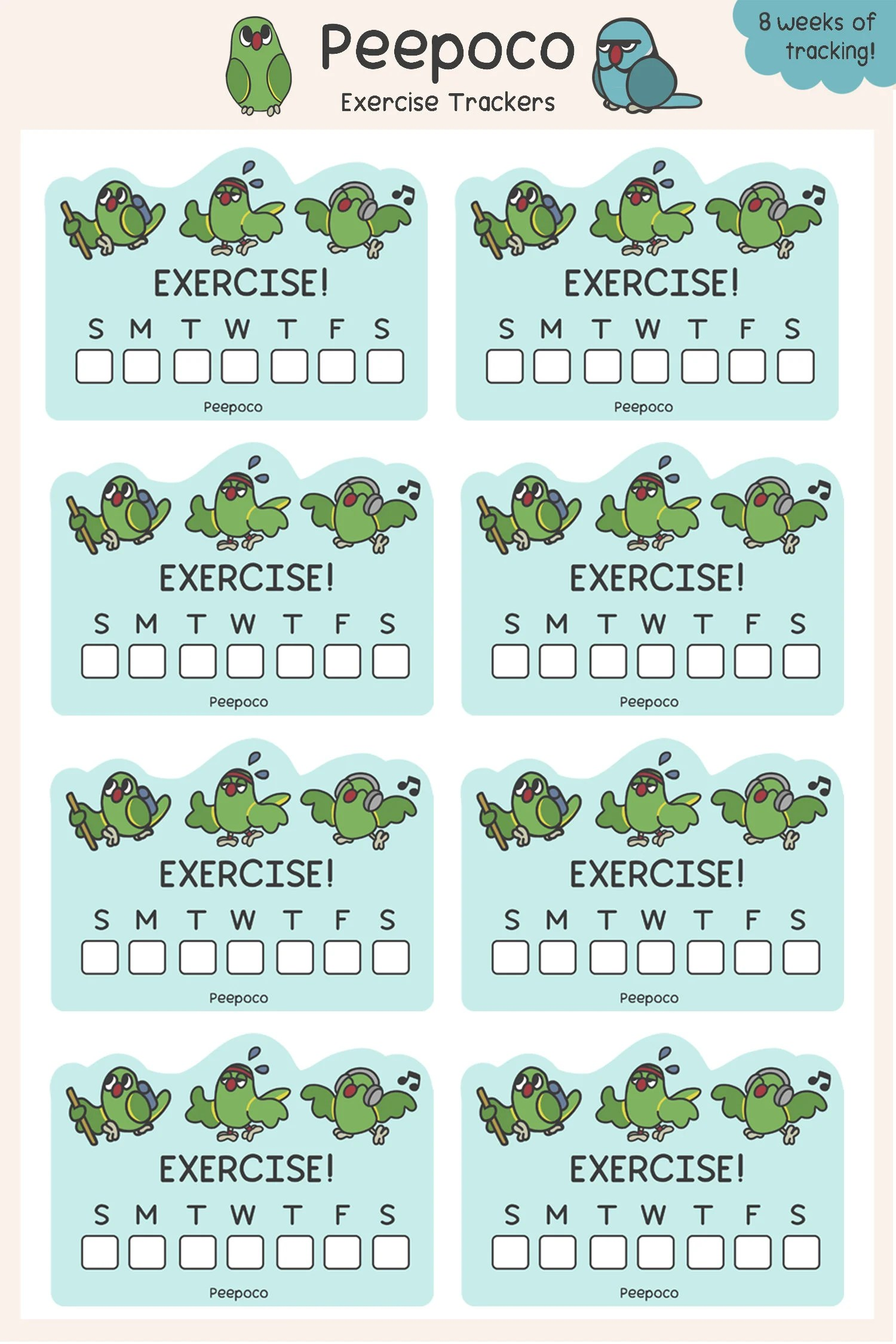 Exercise Sheets Tracking