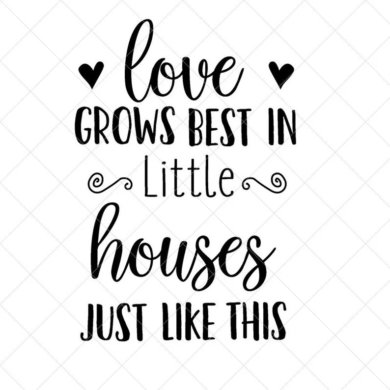 Download Love Grows Best In... SVG Family SVG Home Decor Svg Png | Etsy