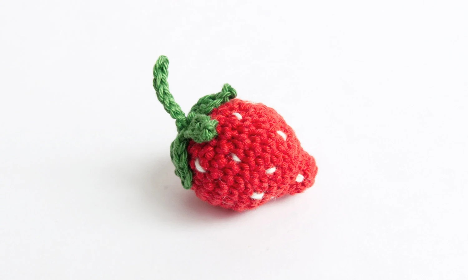Strawberry crochet image 2