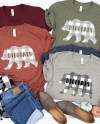 Bella Canvas 3001 Unisex Jersey T Shirt Mock Up Winter Mock Etsy