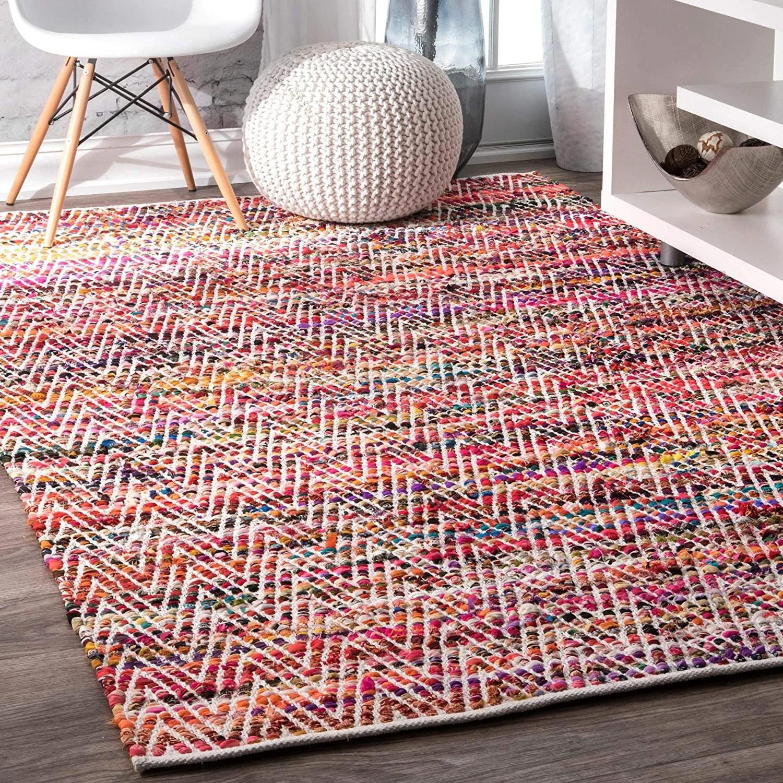 tapis tresse colore etsy