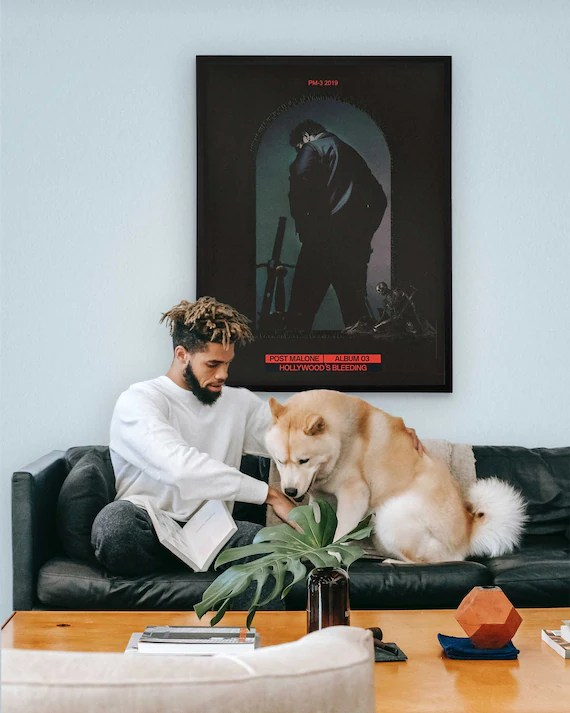hollywood s bleeding post malone poster